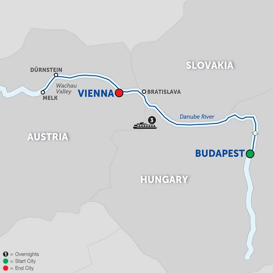 A Taste of the Danube – Cruise Only Westbound (WBV02018)