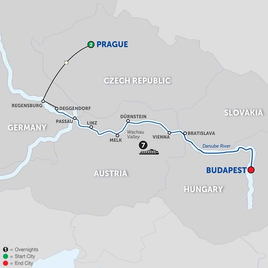 Danube Dreams  Eastbound (WDB2018)