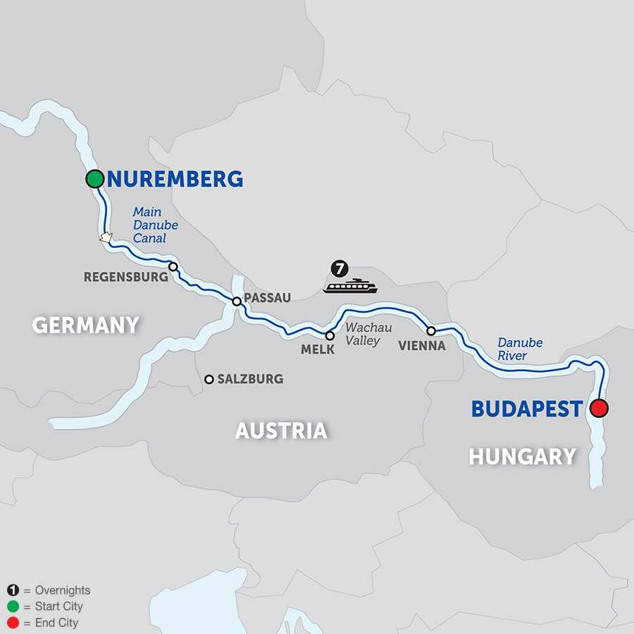 The Legendary Danube Cruise Only (WNB02018)