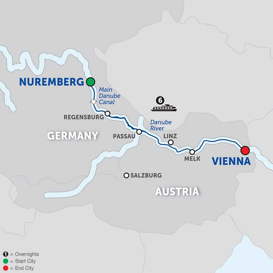 Christmastime on the Danube – Cruise Only Eastbound (WNV02018)