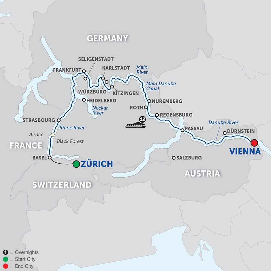 The Upper Rhine to the City of Music (WZV2018)