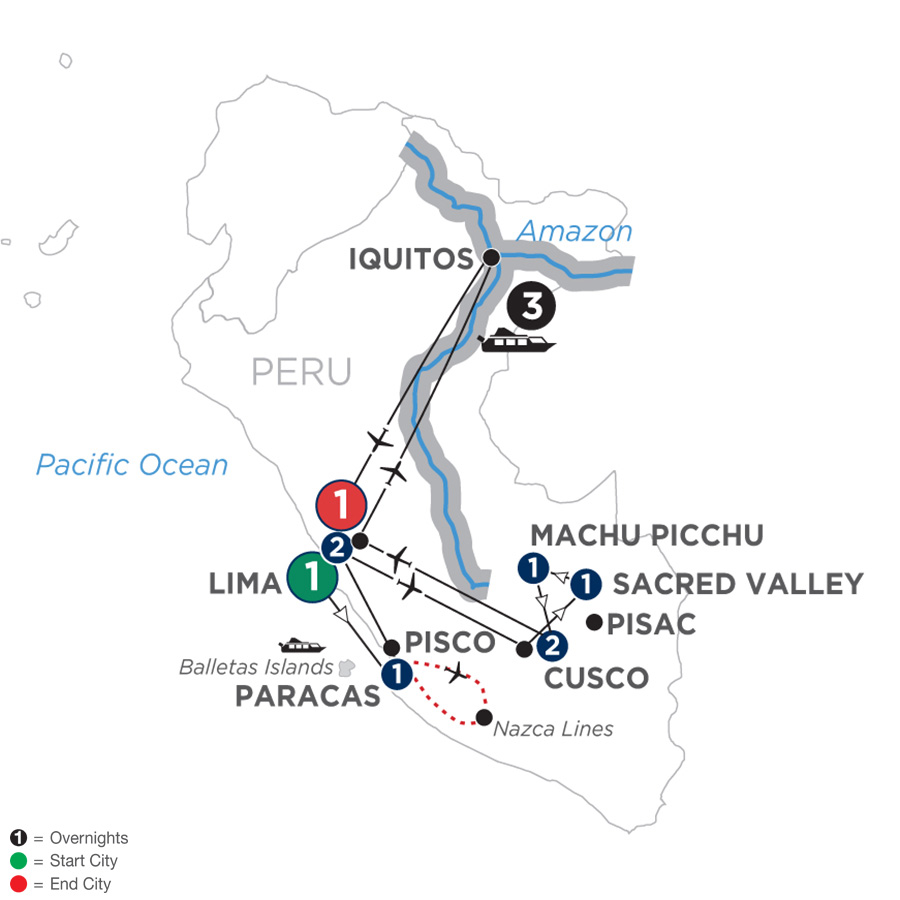 From the Inca Empire to the Peruvian Amazon with the Nazca Lines (WAMQ2019)