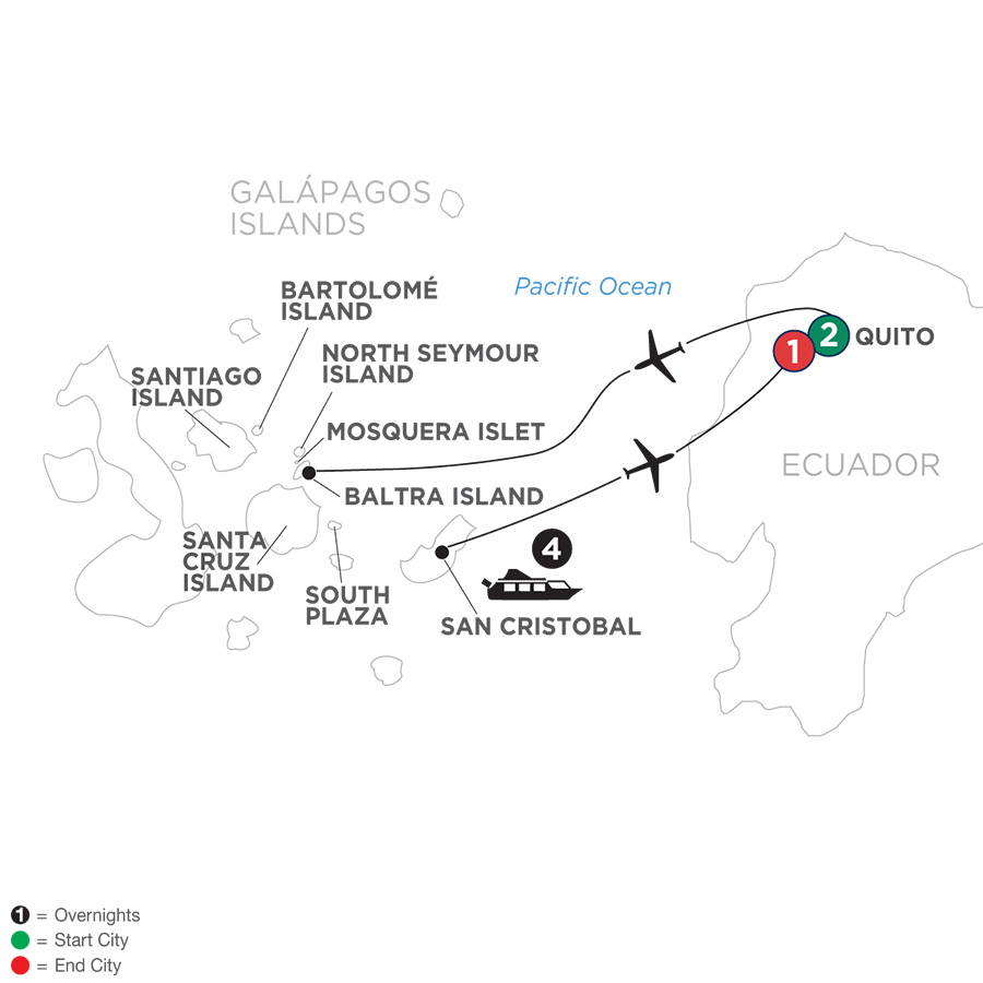 Ecuador and Its Galápagos Islands (WBG2019)