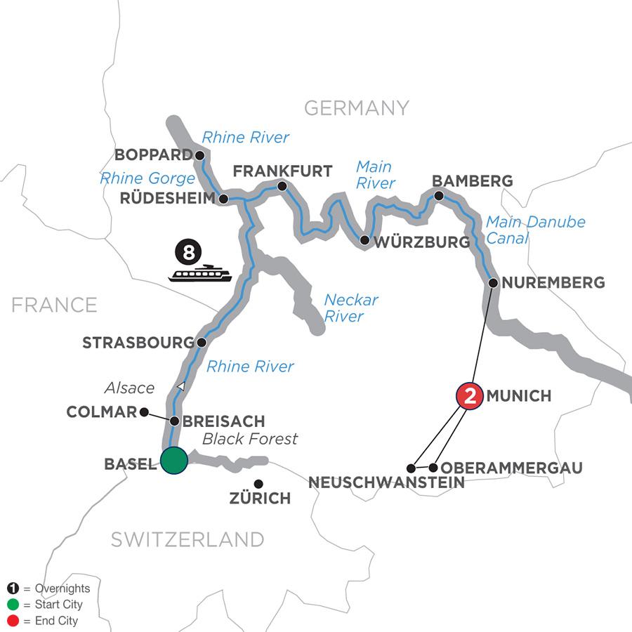 German Grandeur – Eastbound (WZN2019)