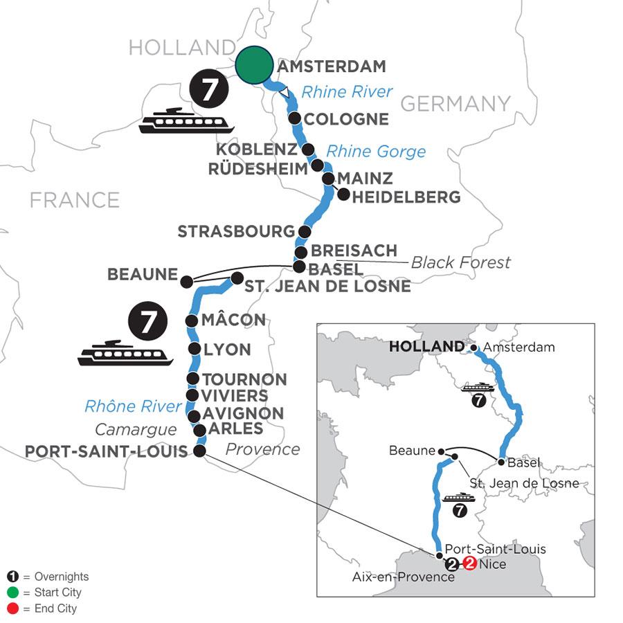 WAL1 Map