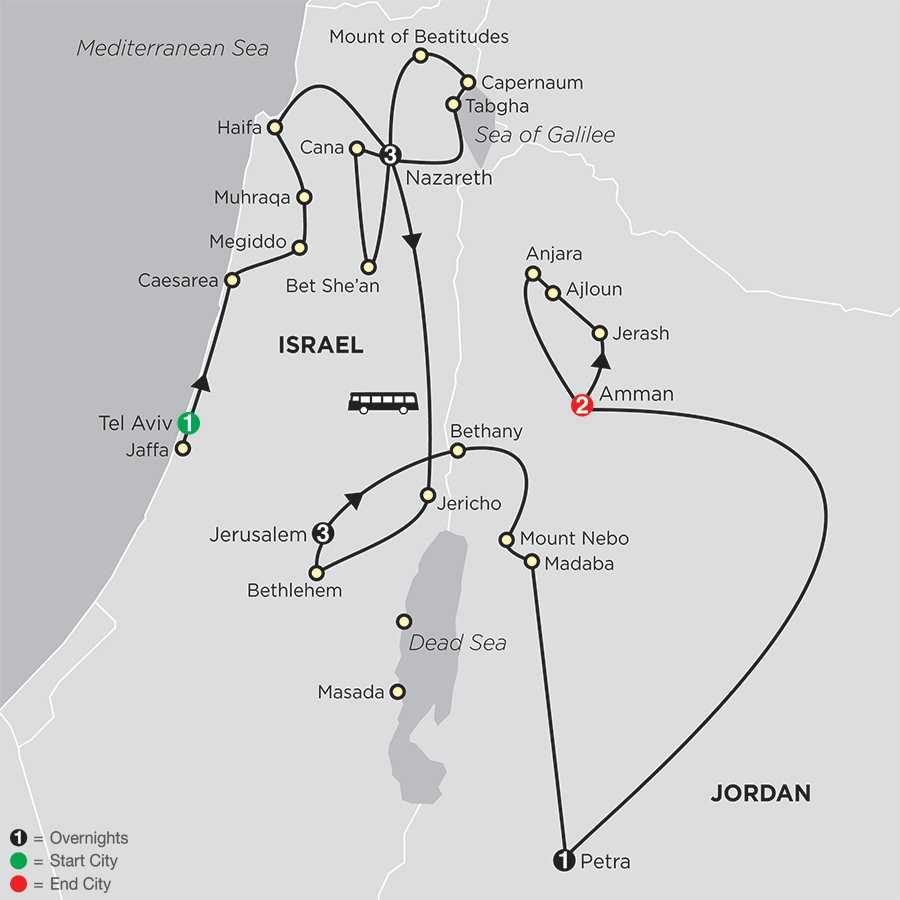 Holy Land Tours  Globus Faith Travel Packages