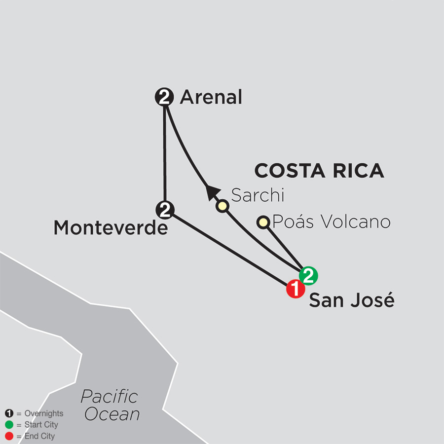 Gateway to Costa Rica (16002018)