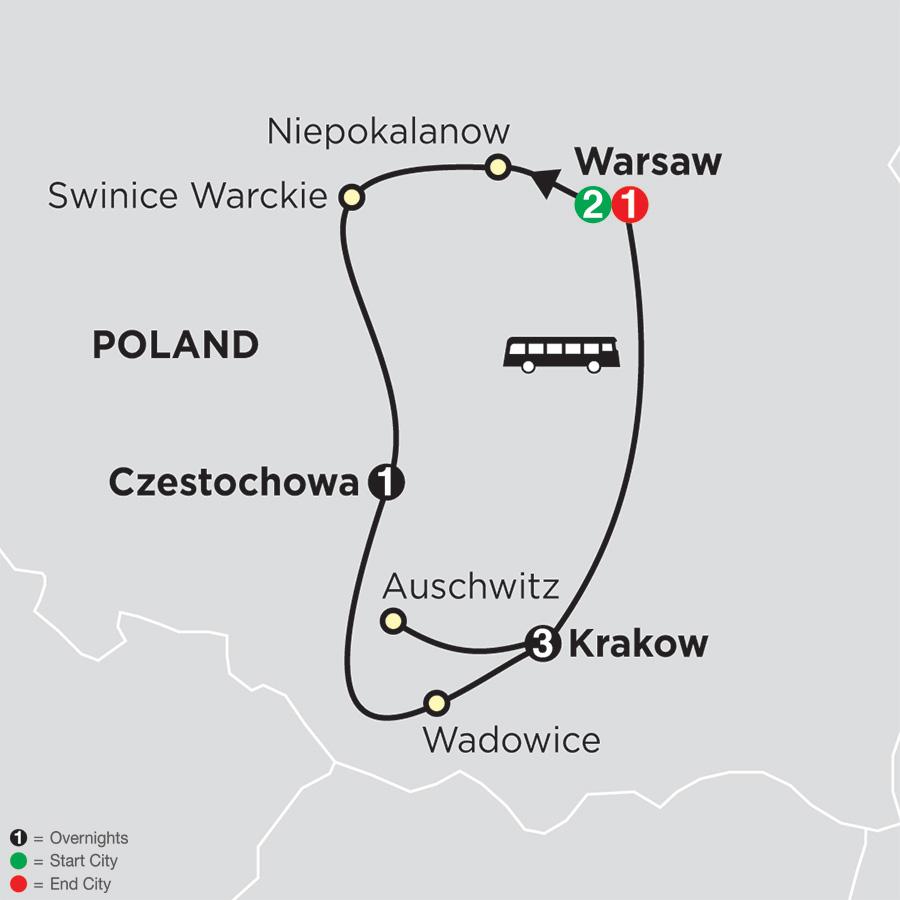 Spiritual Highlights of Poland – FaithBased Travel (53802018)