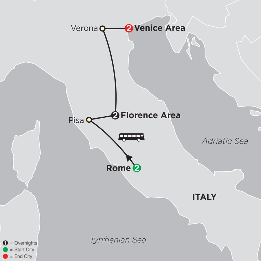 Rome, Florence, Venice (63502018)