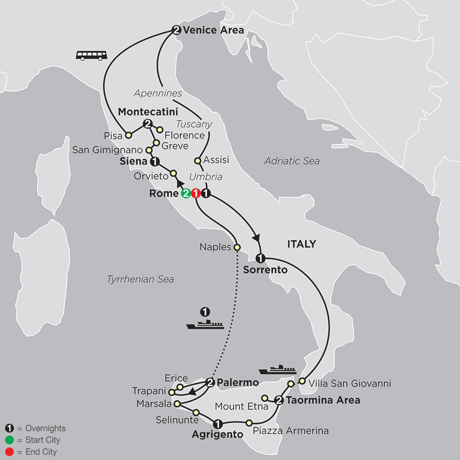 The Splendors of Italy with Sicily (64152018)