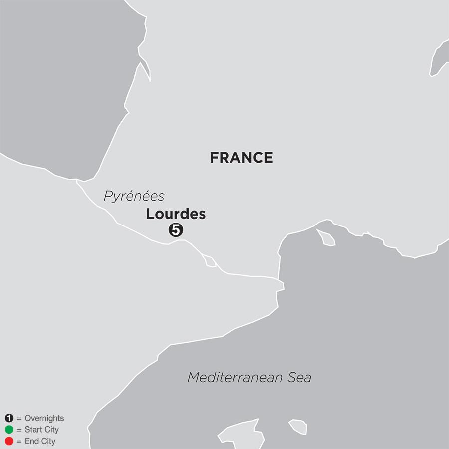 Pilgrimage to Lourdes FaithBased Travel (53502019)