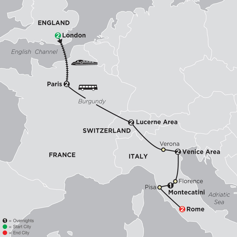 multi country european tours cosmos vacations