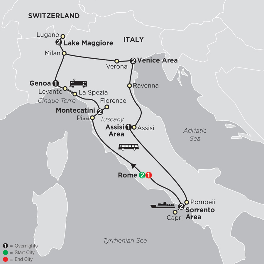 italy tours cosmos affordable tour packages