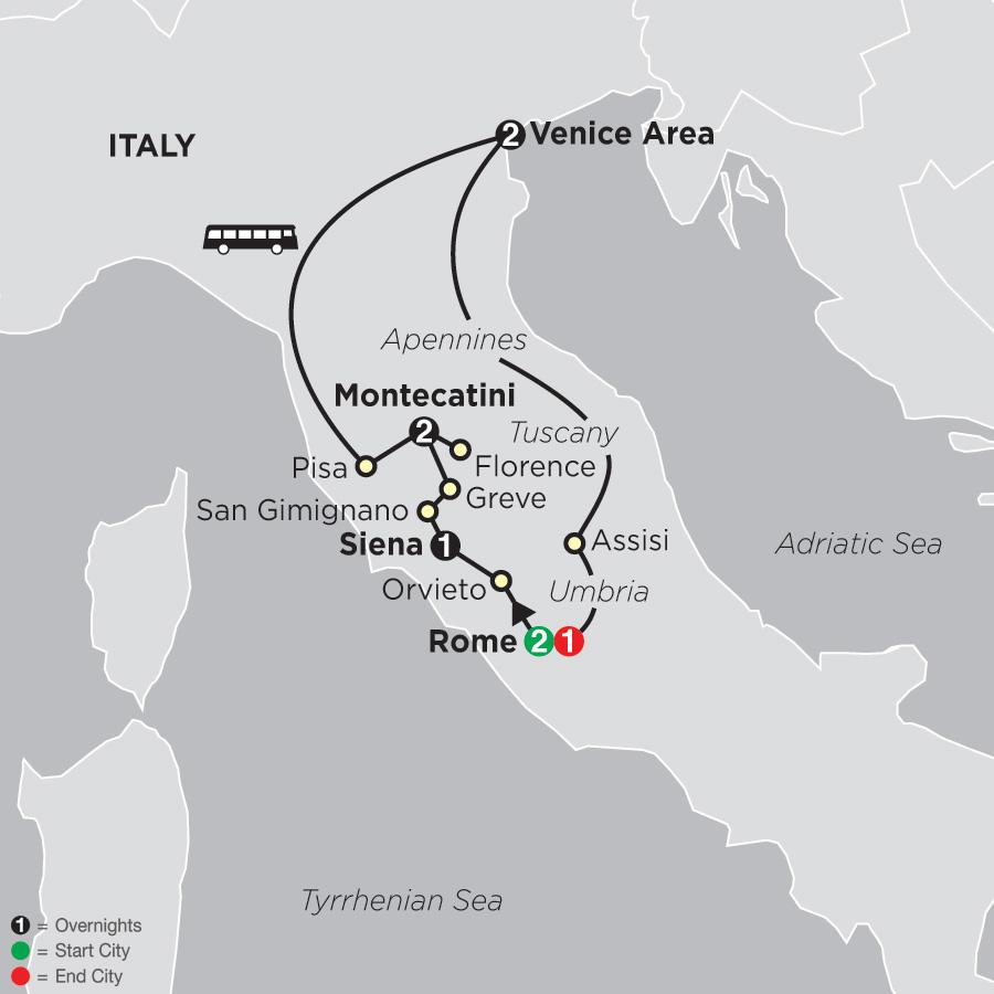 The Splendors of Italy (64002019)