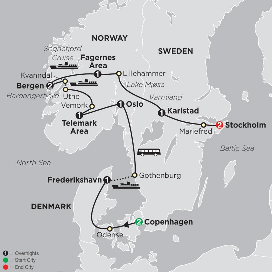 Focus on Scandinavia (69102019)