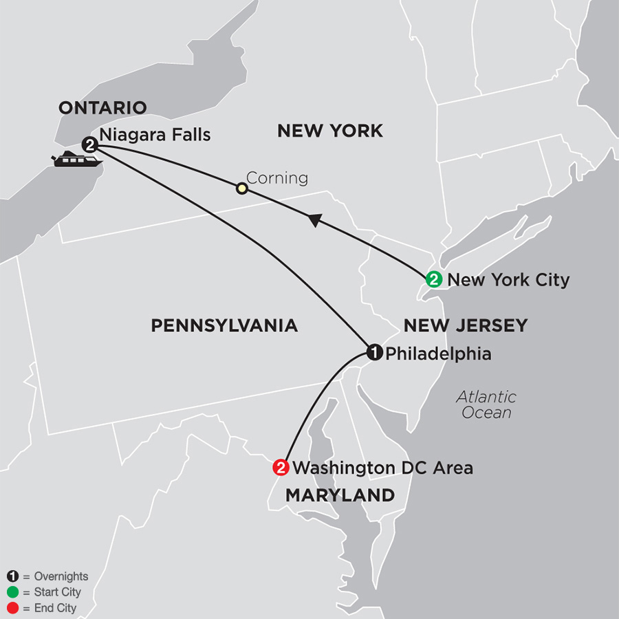 Eastern United States Tours Cosmos Affordable Tours
