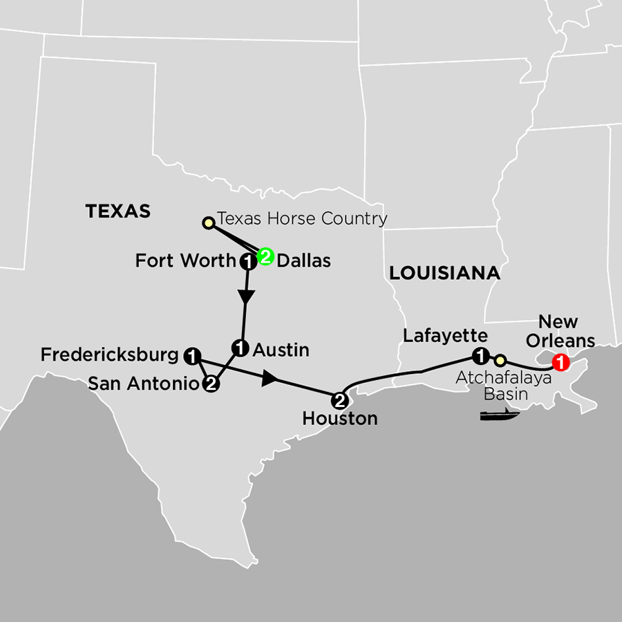 Southern Usa Tours Cosmos 174 Budget Travel