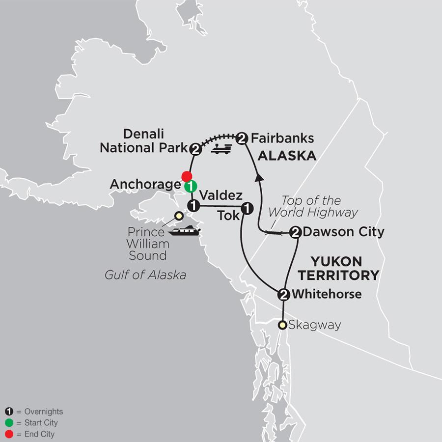 Alaska and the Yukon (83602019)