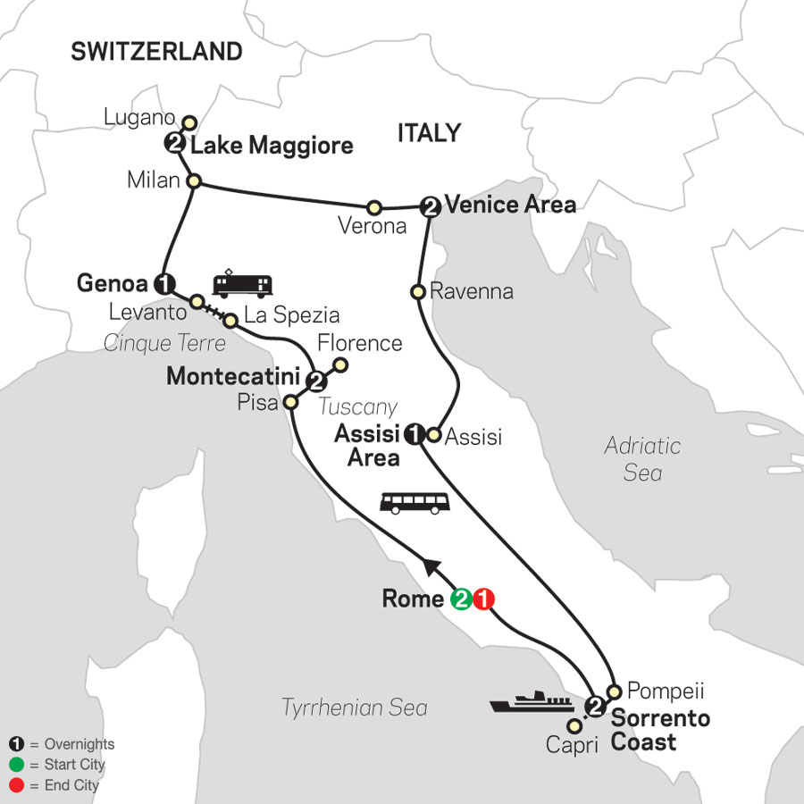 Italy Tours - Cosmos® Affordable Tour Packages