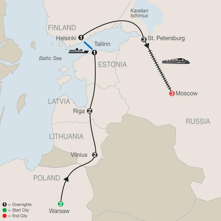Tour Map Image