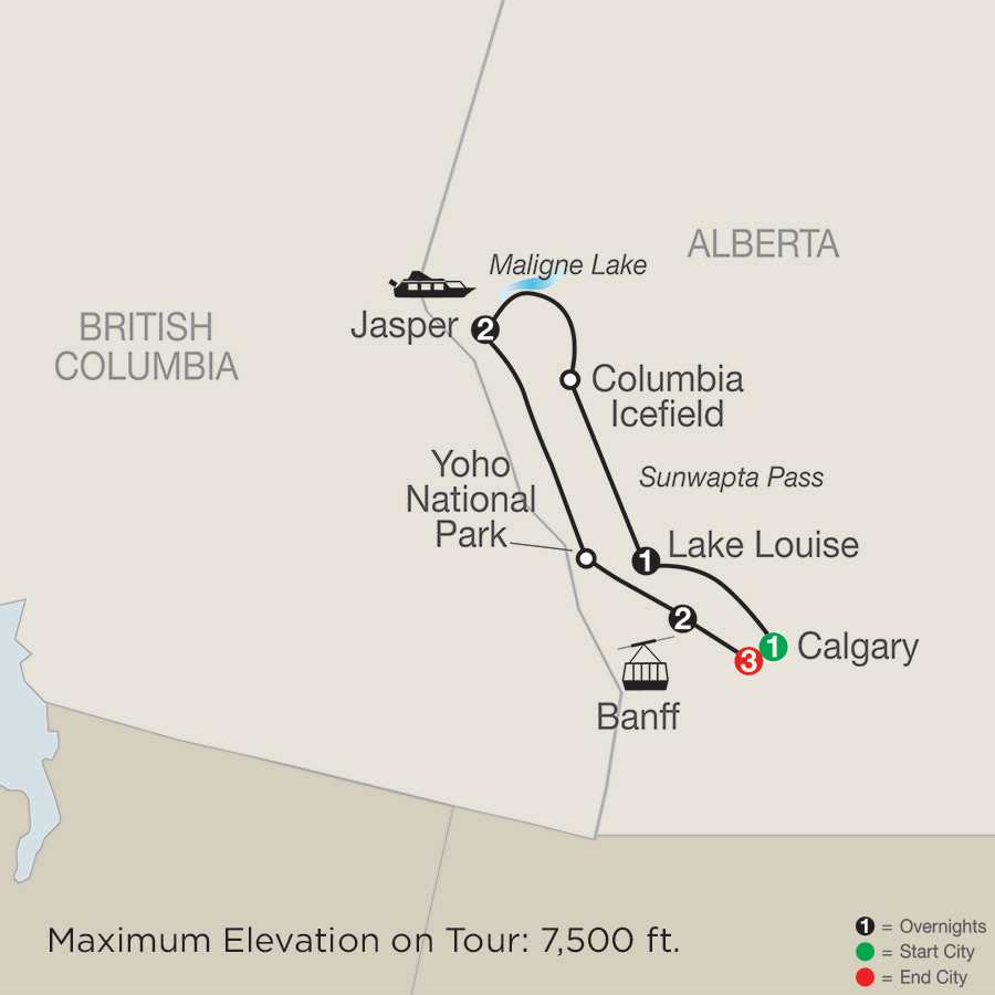 Rockies Guided Vacations Amp Calgary Stampede Tour Globus 174