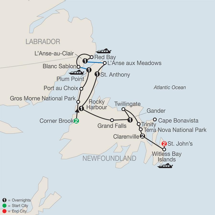 Newfoundland and Labrador (CF2018)