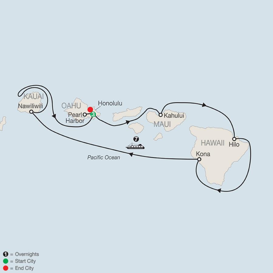 Cruising Hawaiis Paradise with Sheraton Princess Kaiulani (EN2018)