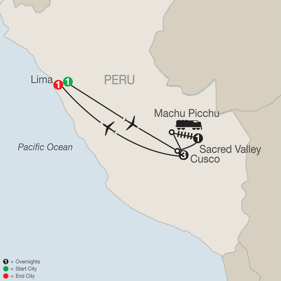 Central South America Tours Globus Escorted Travel - Where is lima