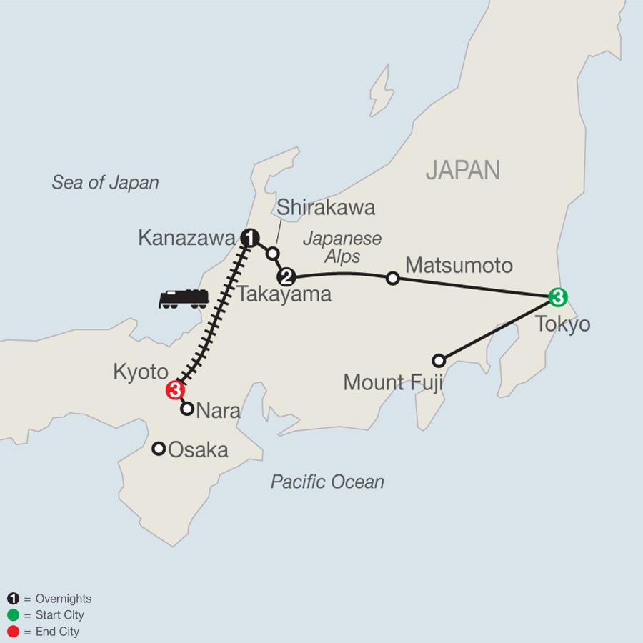 Discover Japan (OJ2018)