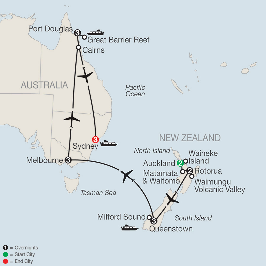 Highlights of the South Pacific (PK2018)