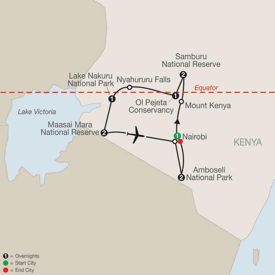 Kenya A Classic Safari (QK2018)