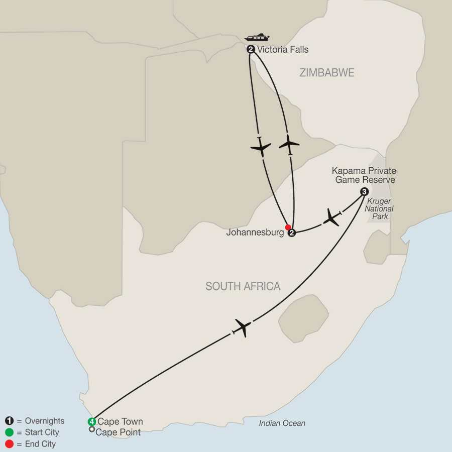 African Vacations Globus Escorted Tours - Exploring south africa 10 best day trips