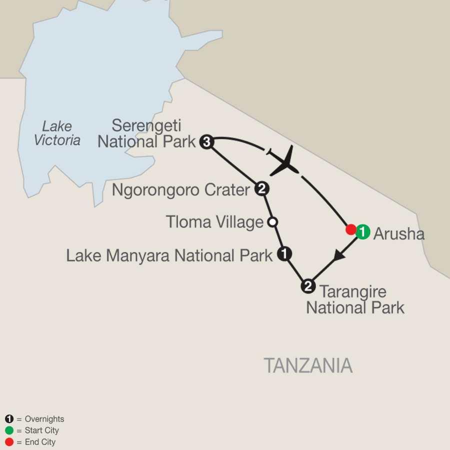 Tanzania The Serengeti and Beyond (QZ2018)