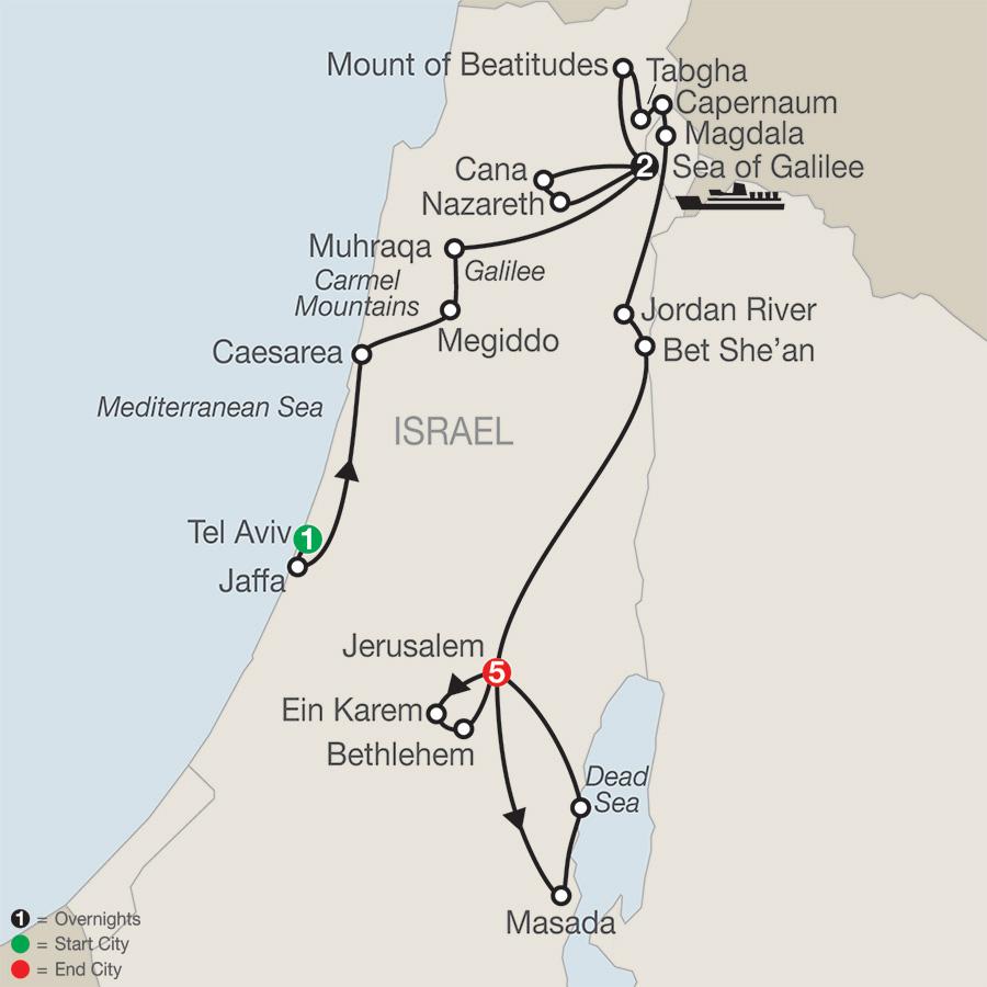 Journey Through the Holy Land FaithBased Travel (TG2018)