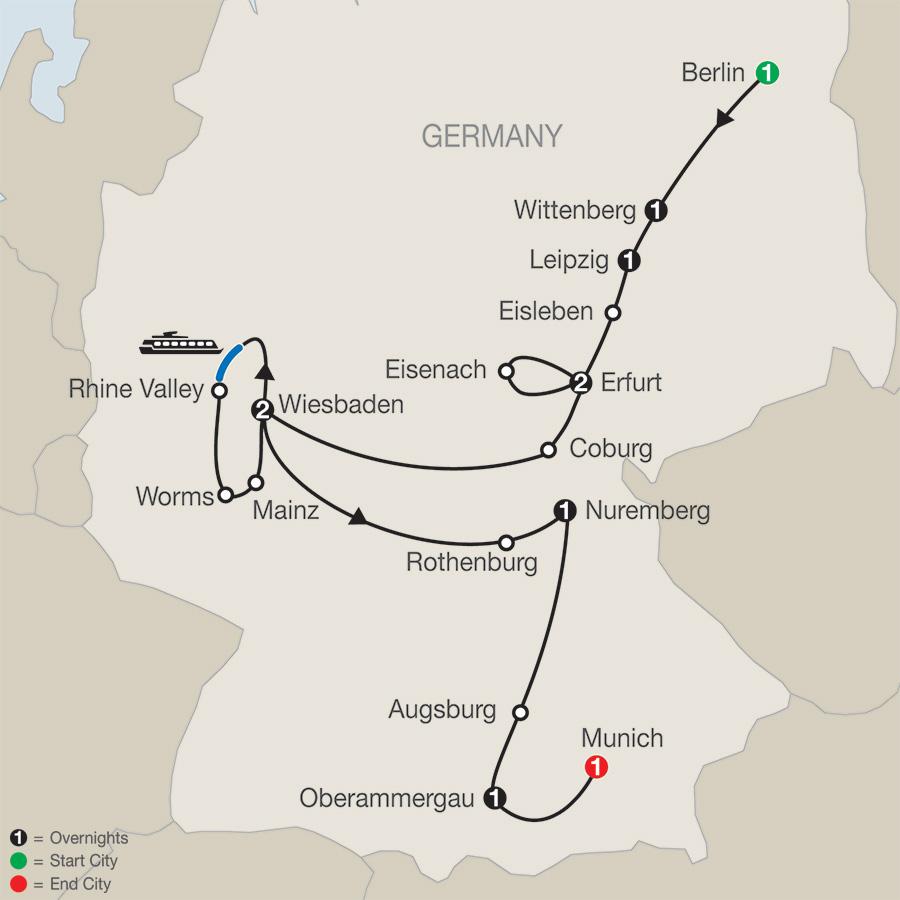 The European Reformation – FaithBased Travel (TL2018)