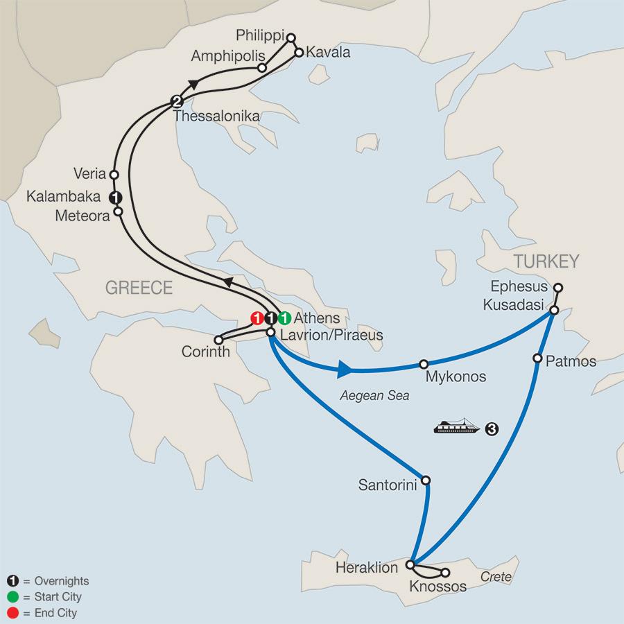 Footsteps of Apostle Paul – FaithBased Travel (TP2018)