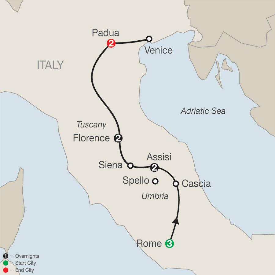 Grand Catholic Italy – FaithBased Travel (TV2018)