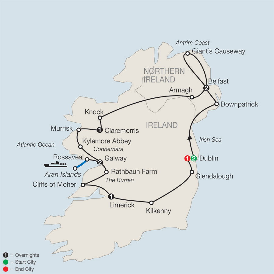 Legacy of St. Patrick – FaithBased Travel (TZ2018)
