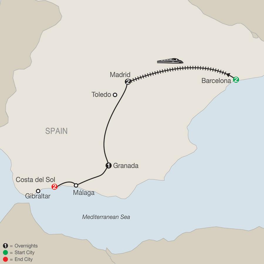 Spectacular Spain (ZY2018)
