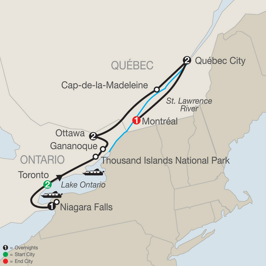 Historic Cities of Eastern Canada (CC2019)