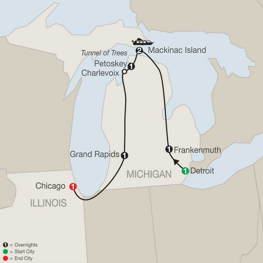 South Midwest United States Tours Globus