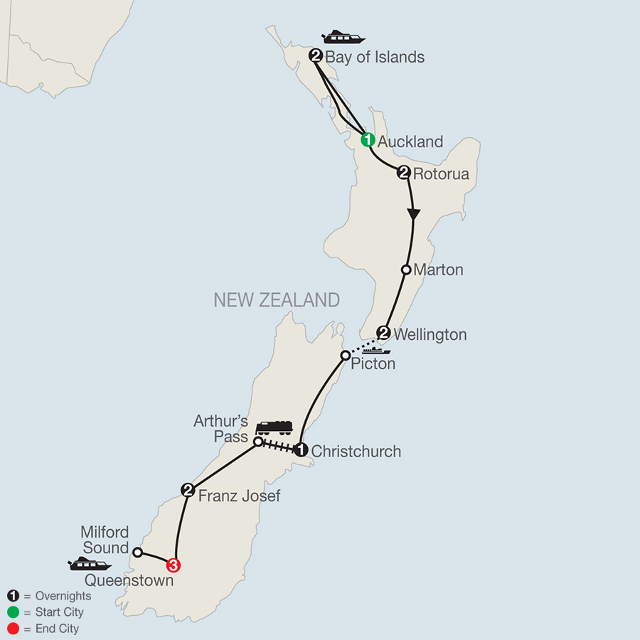 New Zealand Vacations Globus Tour Packages