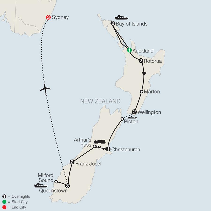 Best of New Zealand with Sydney (PNE2019)