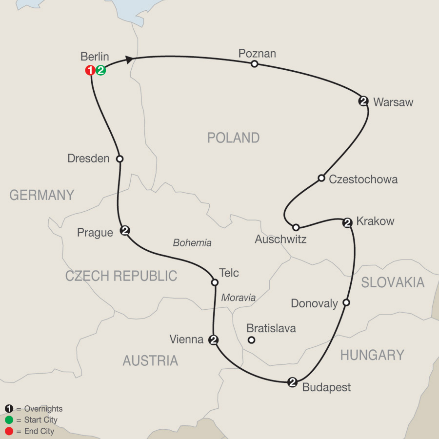 Eastern Europe Tours Globus 174 Tour Packages