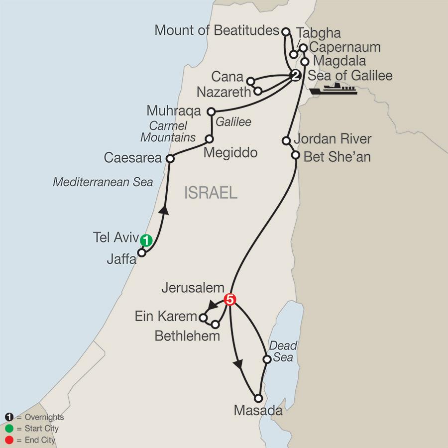 Journey Through the Holy Land FaithBased Travel (TG2019)