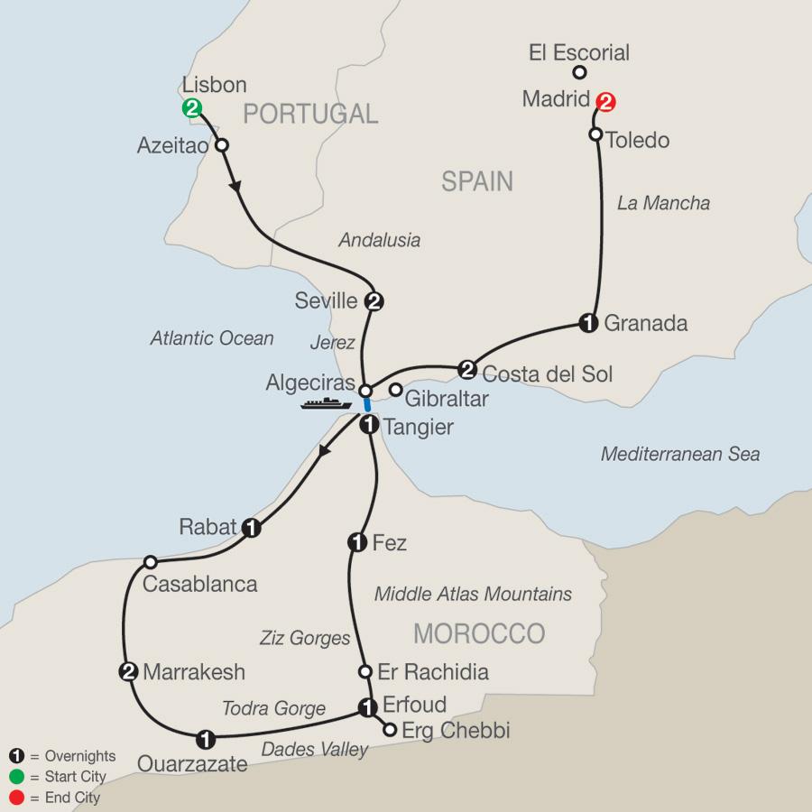 Portugal Tours Globus 174 European Tour Packages