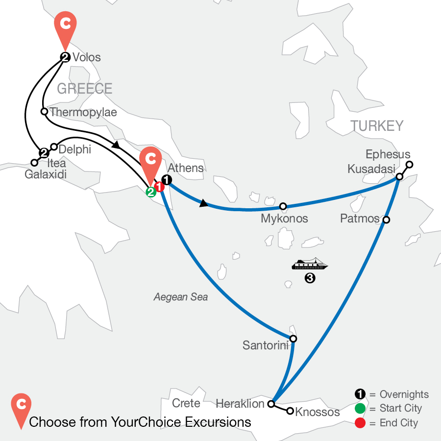 Product Itinerary Image