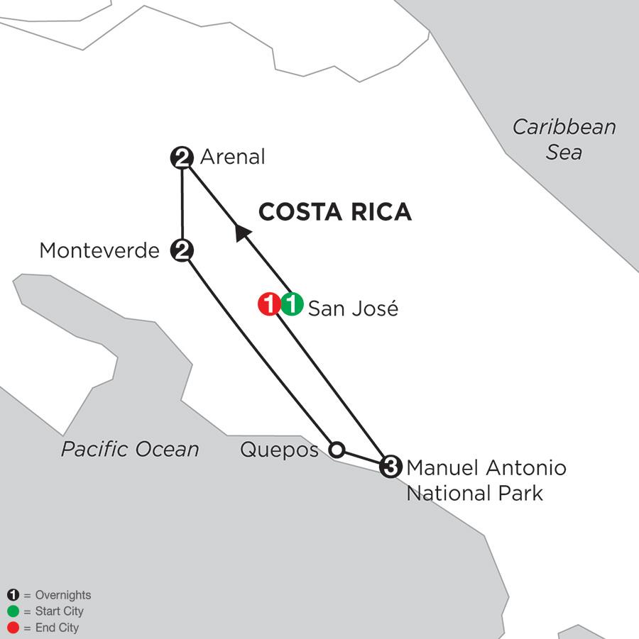 Costa Rica Wonders with Manuel Antonio (ILAC2018)