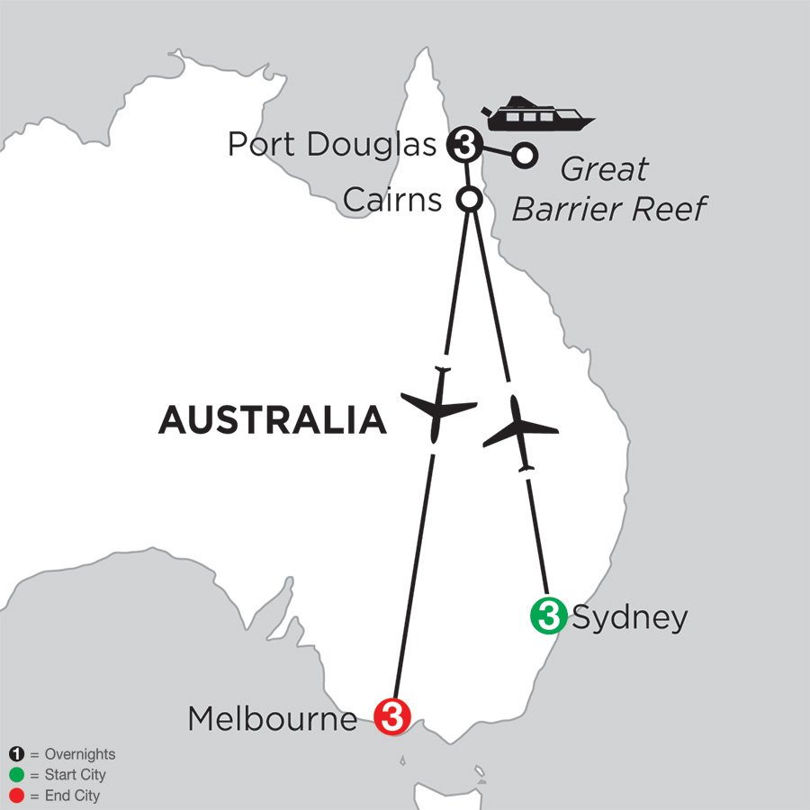 Australian Explorer (IPE2018)
