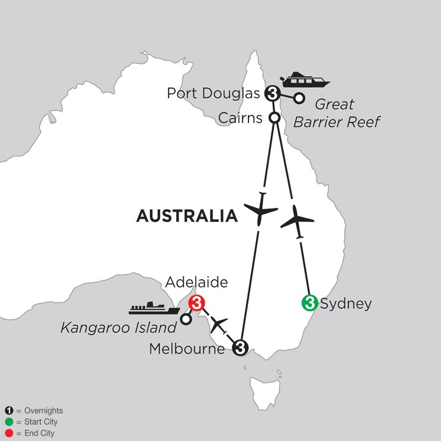 Australian Explorer with Adelaide (IPEC2018)